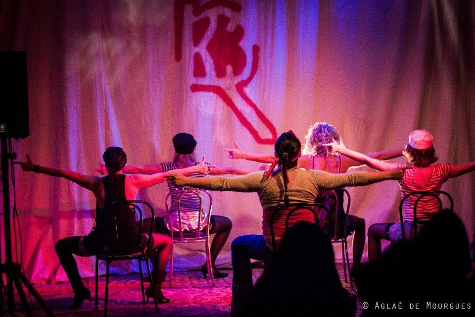 La Puta Calle @La Clinique Des Arts Bis ©Aglaé De Mourgue