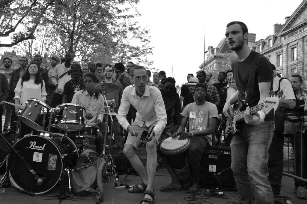 Musiciens @Nuit Debout