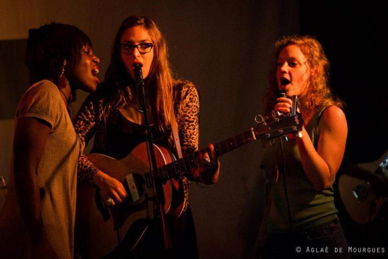 Rouge Rouge Jam avec Mary, Haylen et Emji @La Clinique des Arts bis 21 OCT 2012 ©Aglaé De Mourgues