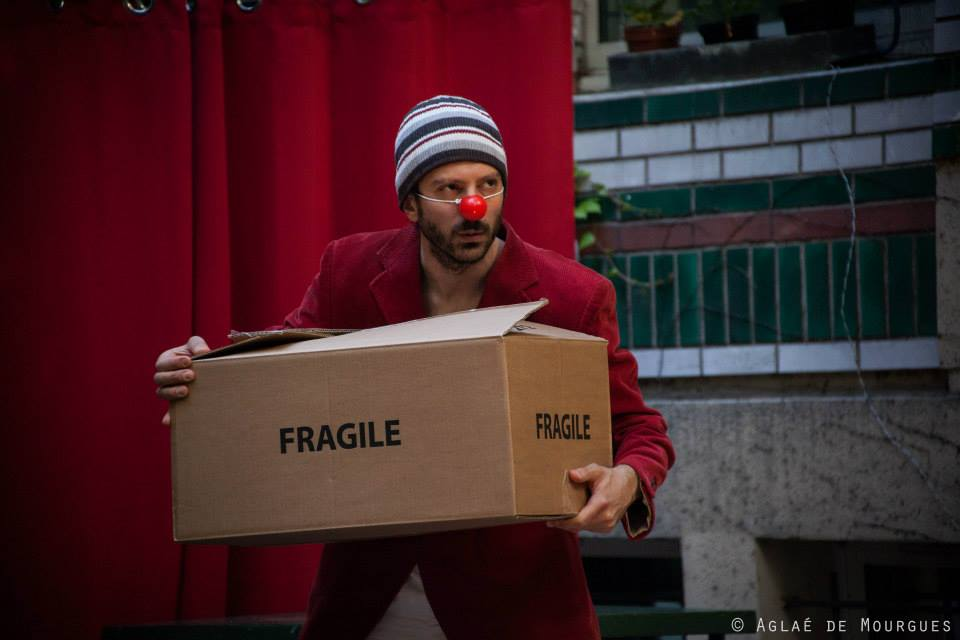 "Cabaret Comique International ""La Puta Calle"" avec Giulio Serafini @Valencienne 9 MAI 2015 ©Aglaé De Mourgues"
