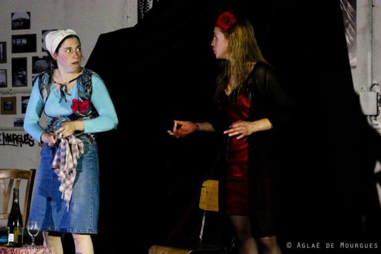 La Gnôle de tante Christine avec Julie Maingonnat et Jayne Walling, MeS Balthazar Gaulier @ Festival du F.O.U. A la clinique des Arts Bis, le 24 JUIN 2012 ©Aglaé De Mourgues