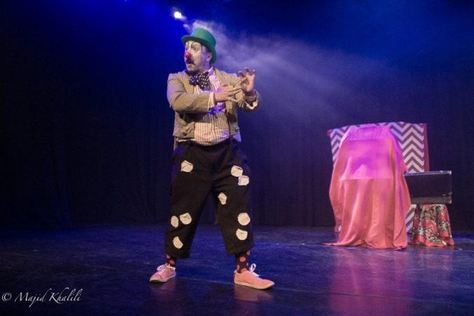Balthazar Gaulier dans Abudadabel @London Persian International Theater Festival 2019
